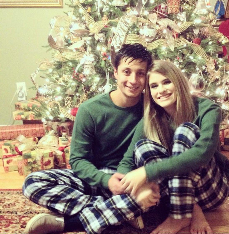 Holiday Stripe Matching Family Pajamas Matching family