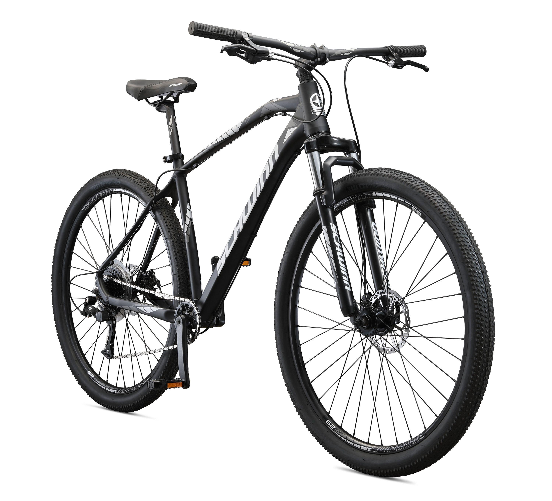 Schwinn Taff Mountain Bike 29 Inch Wheels 8 Speeds Black White 1x8 Walmart Com In 2020 Schwinn Black Mountain Bike Bicycles For Sale