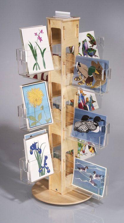This elegant countertop spinner holds 24 dozen greeting cards or this elegant countertop spinner holds 24 dozen greeting cards or postcards made in the us m4hsunfo