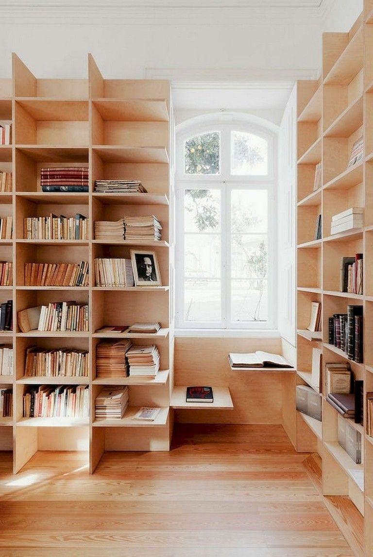 45 Amazing Scandinavian Ideas For Your Home Library Scandinavian Ideas Homelibrary Home Scandinavian Bookshelves Trendy Home
