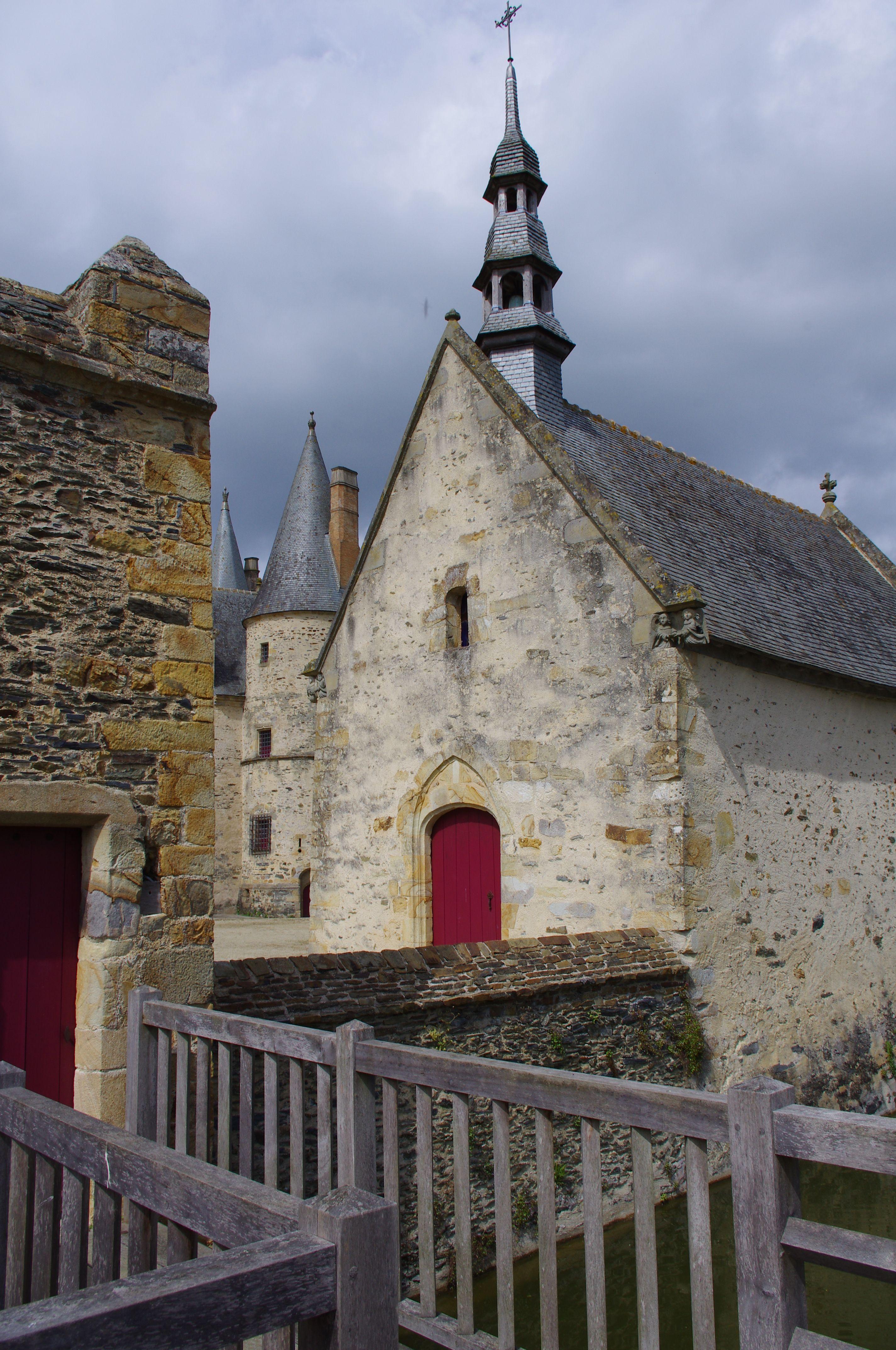 Haute Cour Chapelle Du Bois Orcan Xve Siecle Classe Mh Bois