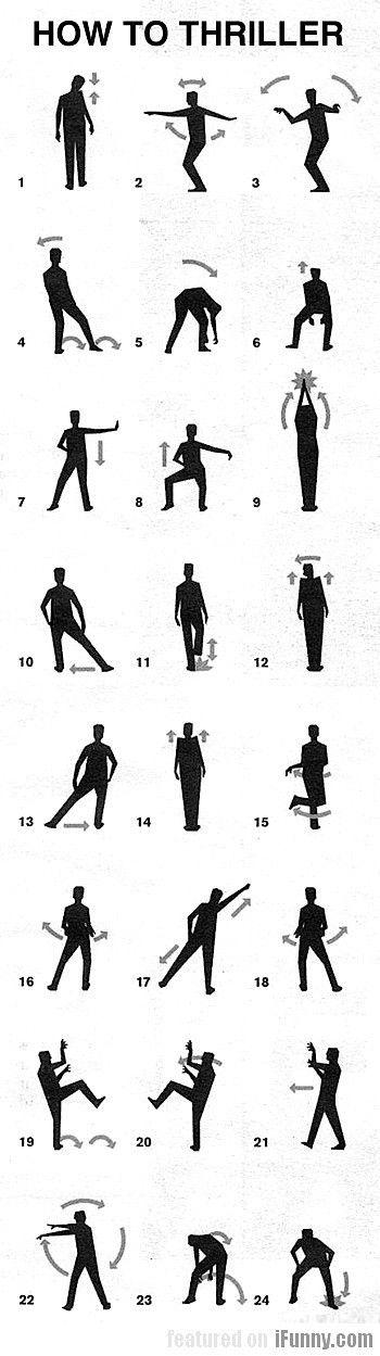 учить танцы по картинкам них