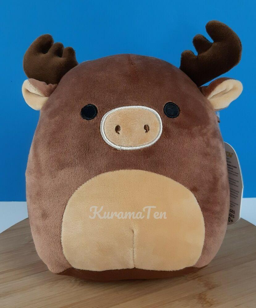 Kellytoy squishmallows maurice the moose pillow pet plush