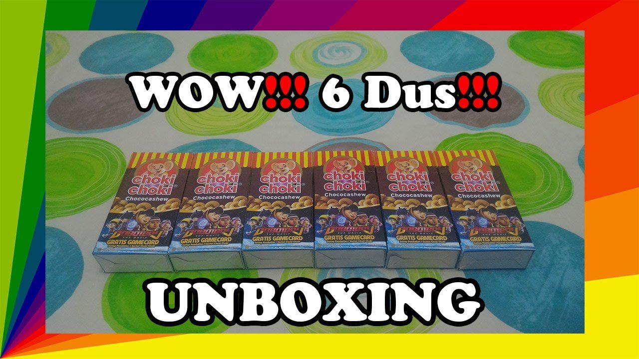 Lagi Lagi Unboxing Choki Choki 6 Dus Dapatnya 120 Kartu