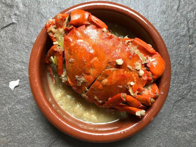 Cangrejos Salteados Al Ajillo Cocinas Del Mundo Recetas