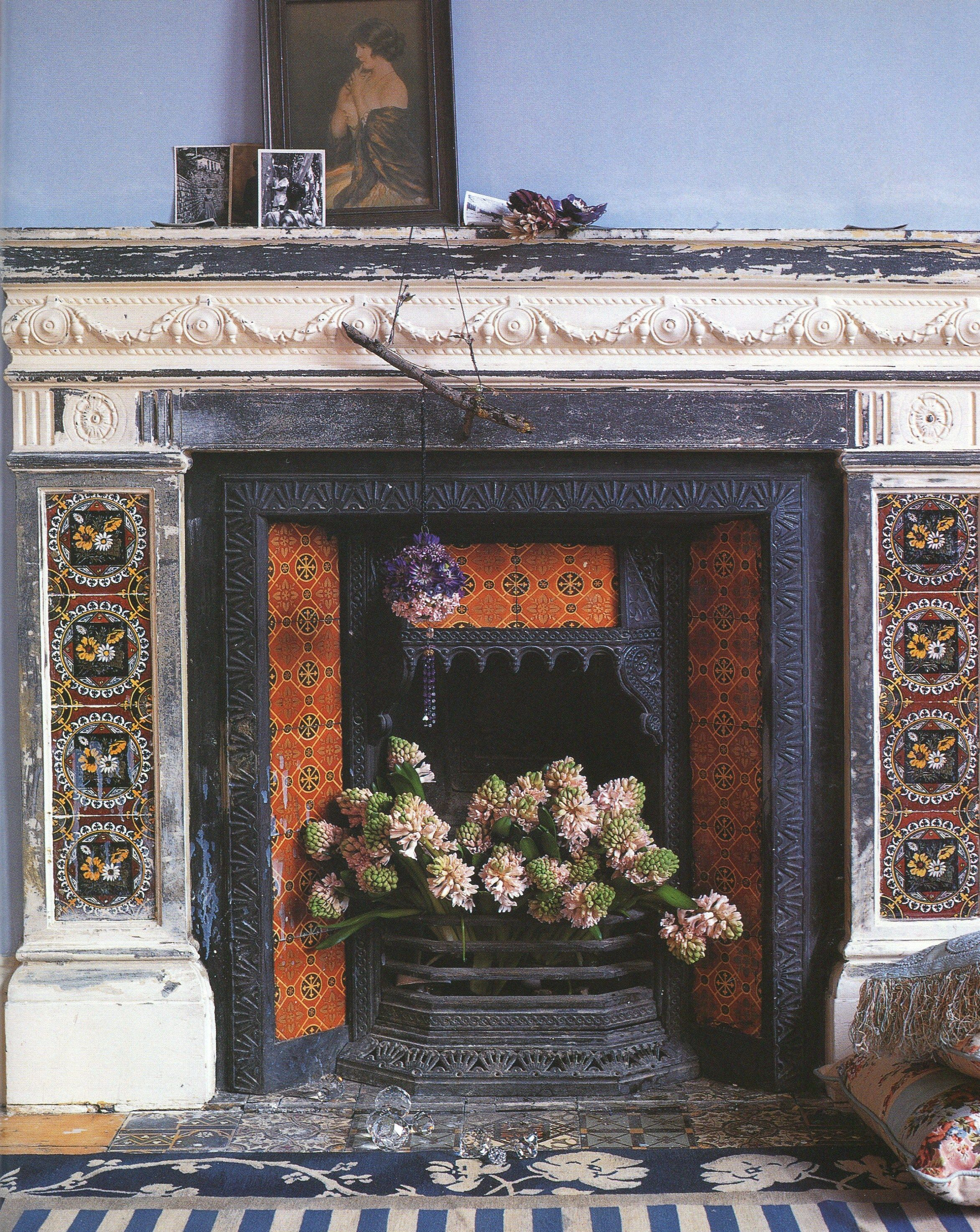 thomas jeckyll kelmscott garden building org insert for fireplace fireplaces mantels antique id f manor from master tiles sale tiled at furniture