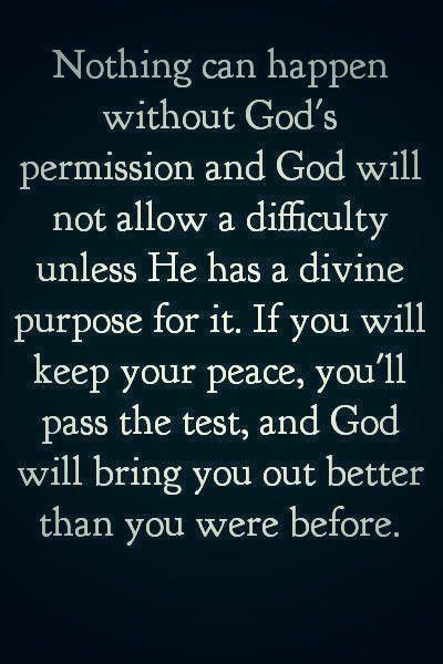 Divine Purpose.