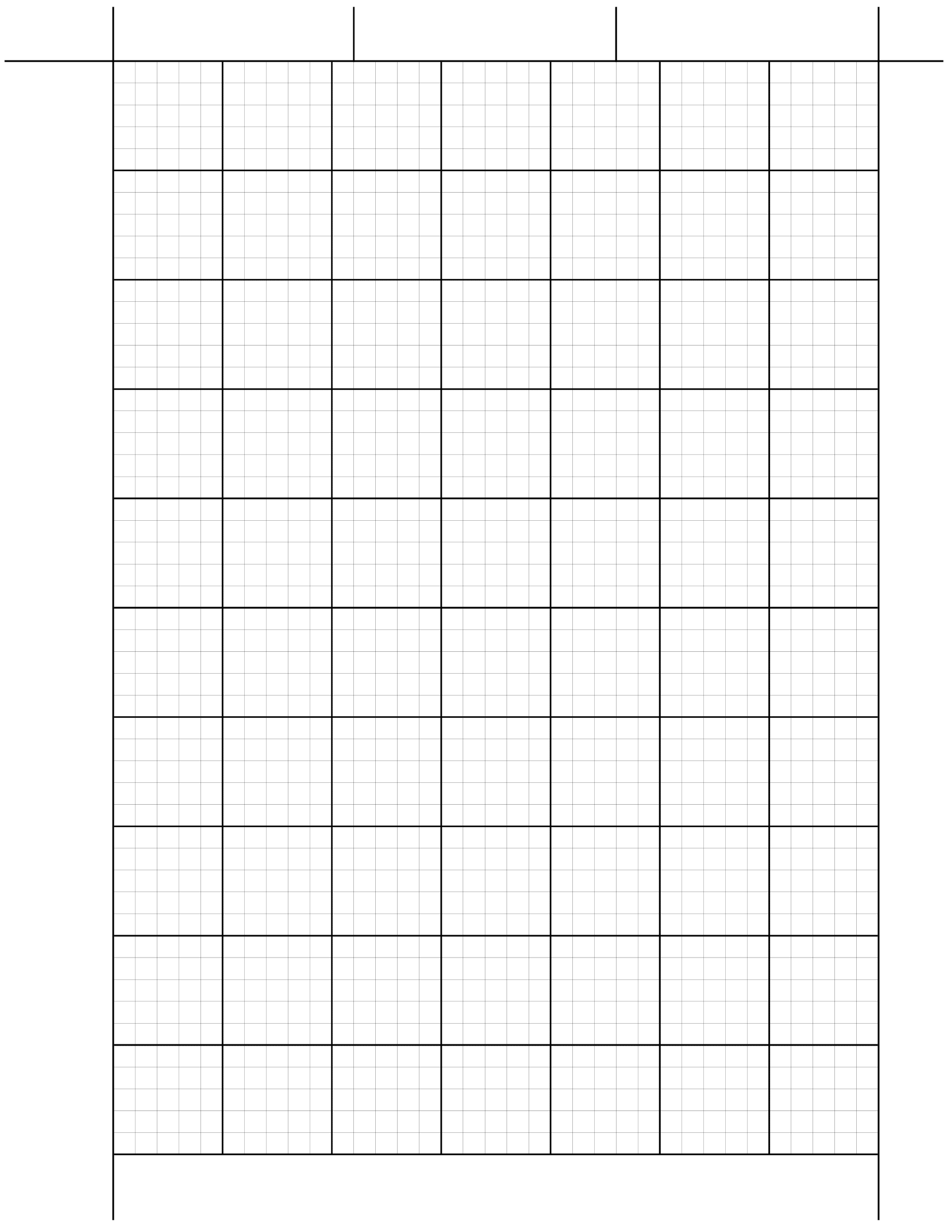 This Is A Template For Printing Engineering Computation Pad Paper On Regular Printer