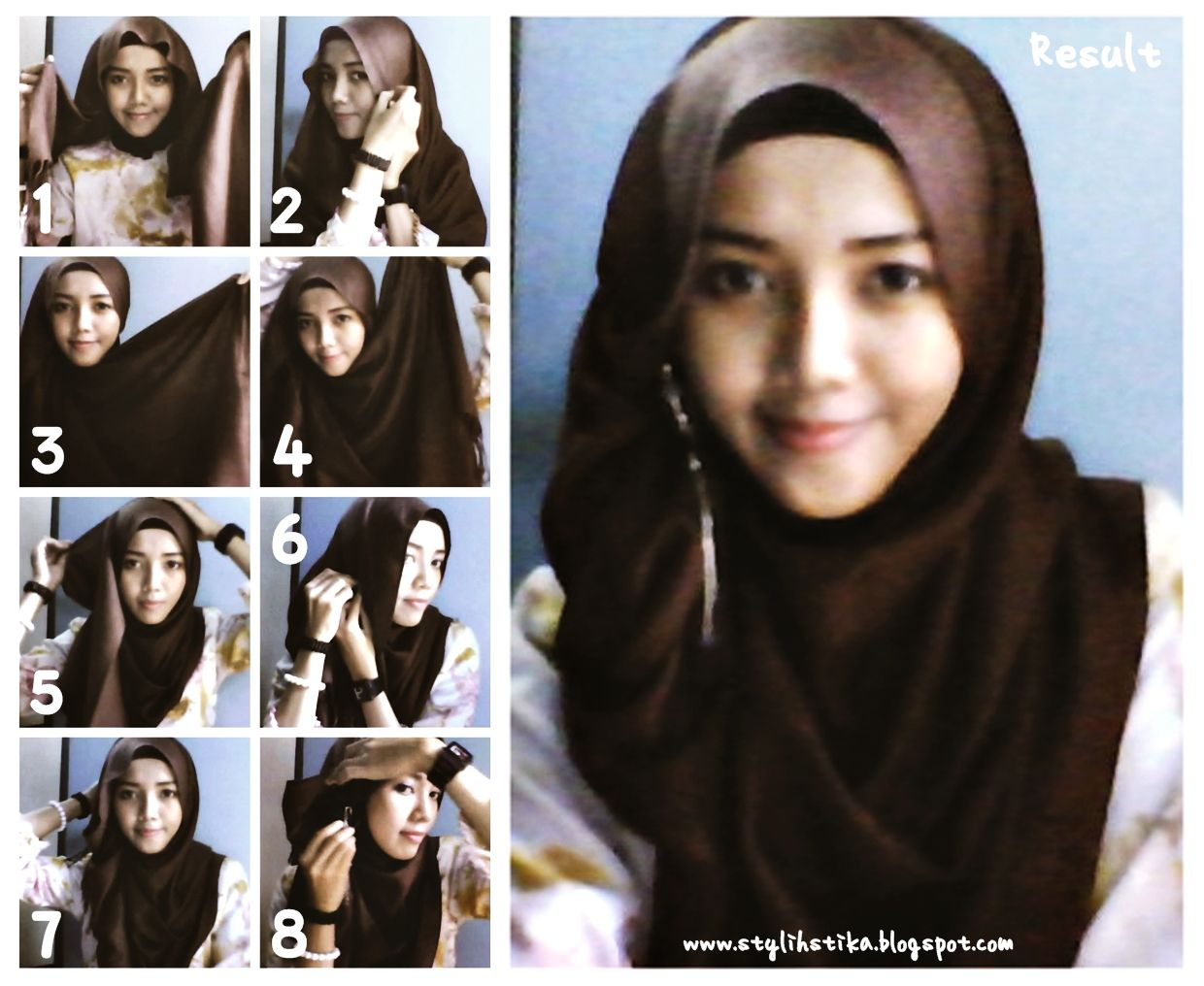 Tutorial Hijab Arab Latest And New Hijab Style Step By Step