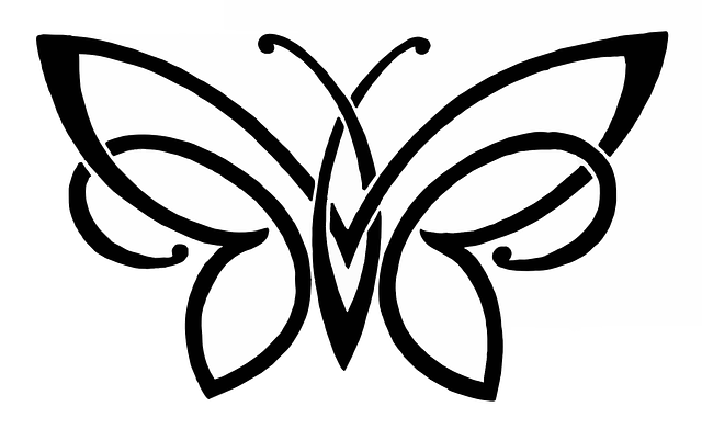 Butterfly Drawing                                                                                   Would work as a tattoo