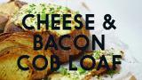 Cheese and bacon cob loaf