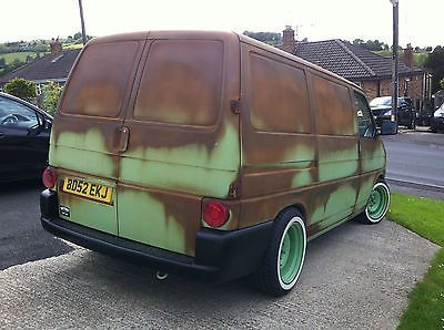 vw t4 transporter show van custom hotrod. Black Bedroom Furniture Sets. Home Design Ideas