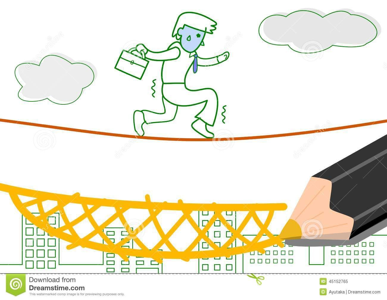 Line Drawing Website : Image from http thumbs dreamstime z risk guarantee