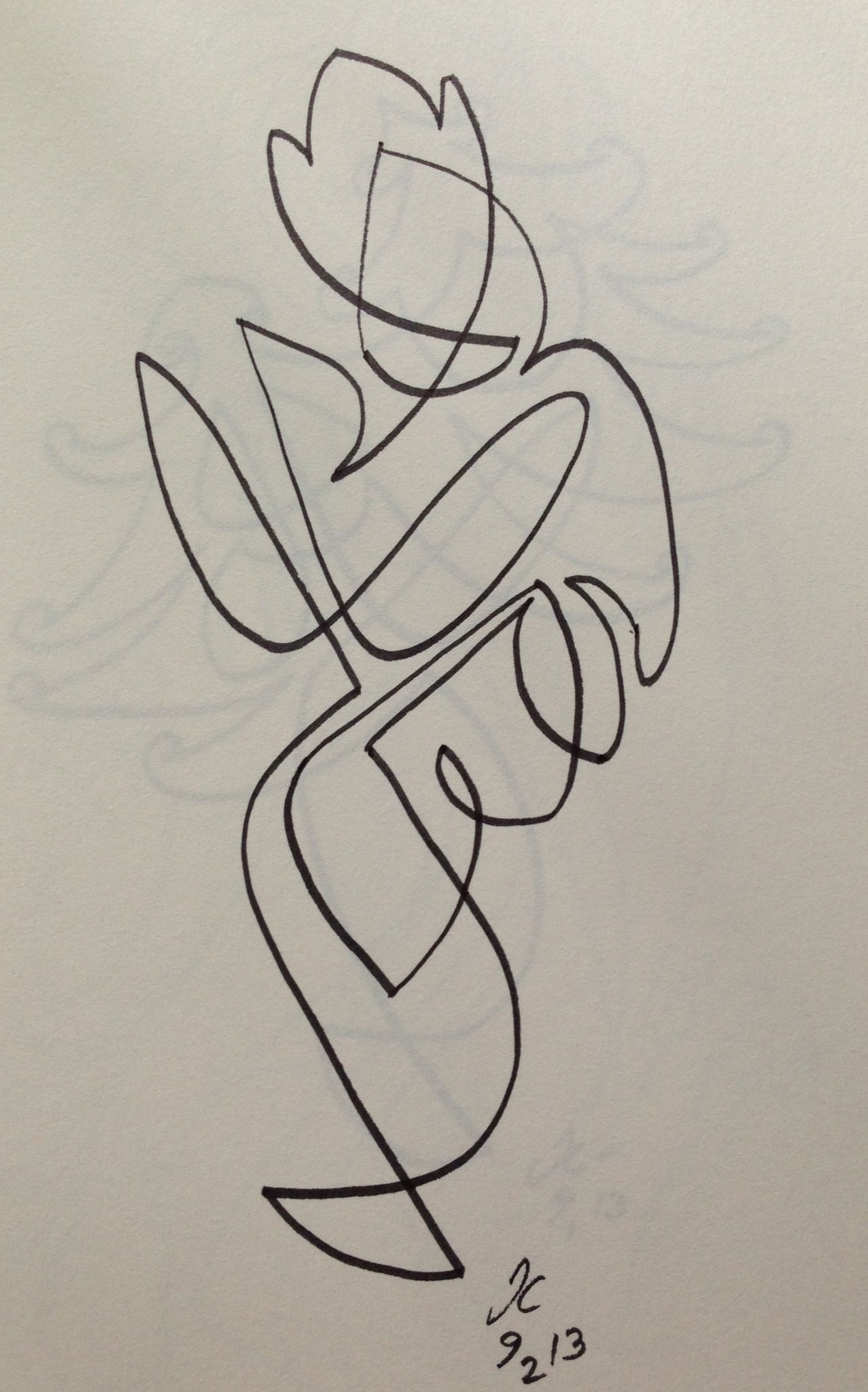Krishna for today. The one line series. | Painting | Pinterest ...