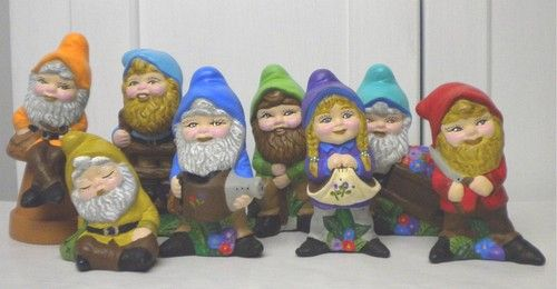Image result for ceramic garden gnomes from the 80s