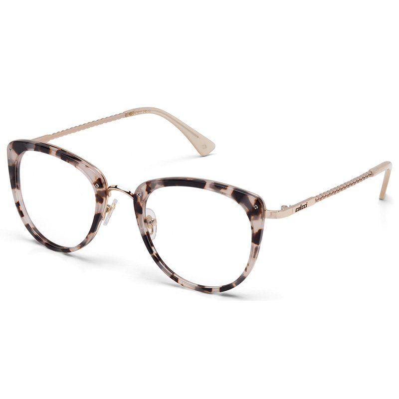 Armação de Grau Colcci C6035 Marrom Demi e Rose Feminino - Colcci Eyewear  Óculos De Grau 2f29cfd539