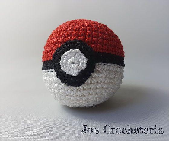 Free Crochet Pattern Of The Pokeball From Pokemon Distinctive