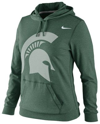 Michigan State Spartans Women s Nike Fan Jersey Lightweight Hooded  Sweatshirt  spartans  michiganstate  sparty 9cab352ac9