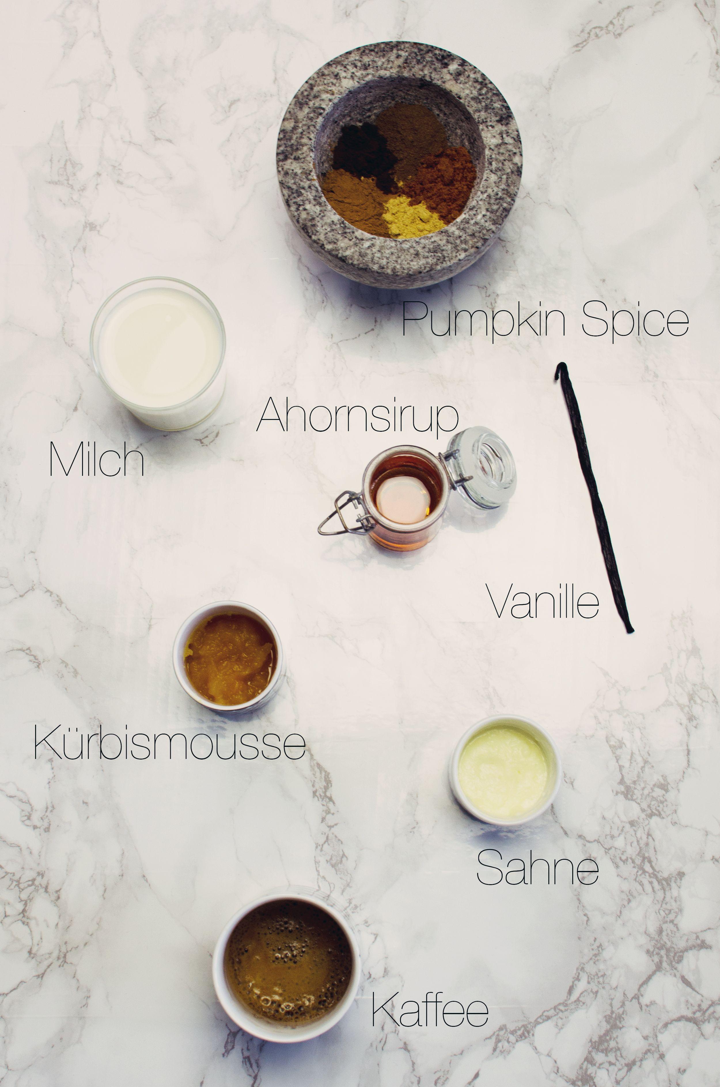 Homemade Pumpkin Pie Spice Latte (mit Bildern