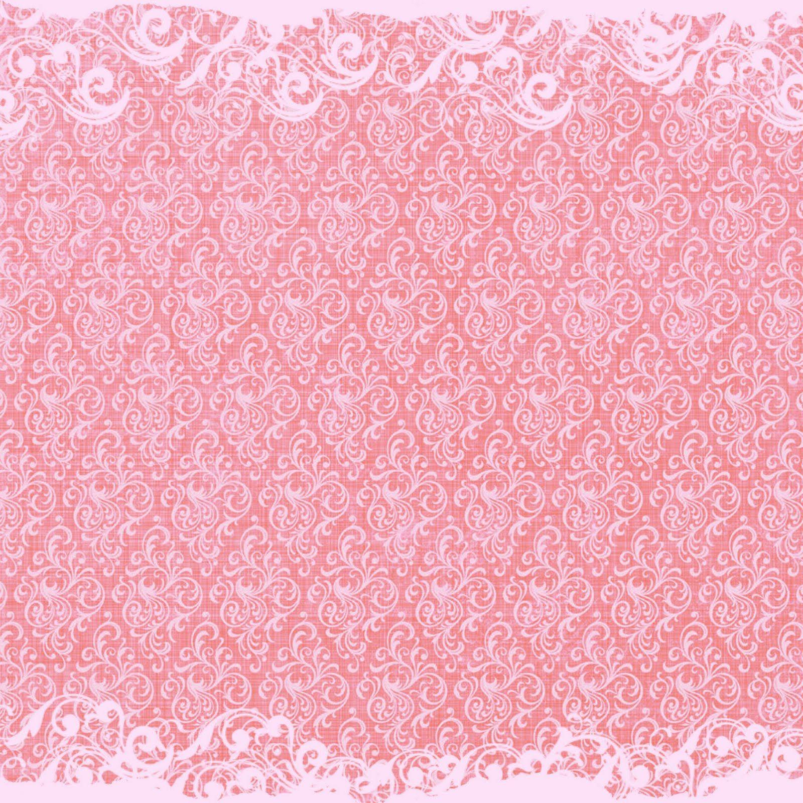 Free Digital Scrapbook Paper Pink Swirls Disenos Scrapbook