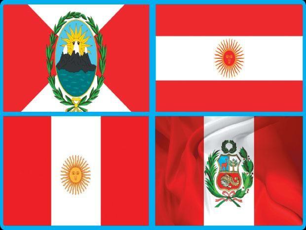 Cambios En La Bandera Del Peru Historia Dia De La Bandera