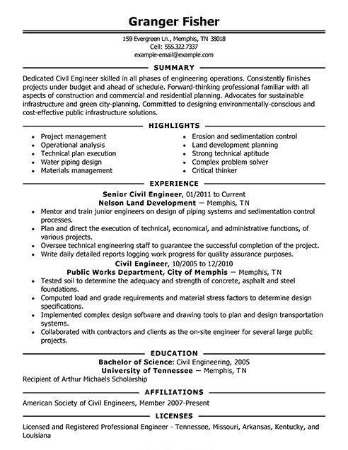 sample engineer resume  recentgrad  resumedeer  resumewriting  resumetips