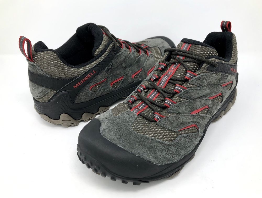de1eee15a4a Merrell Chameleon 7 Limit Mens 11.5 M Waterproof Hiking Shoe Beluga Gray  J12769