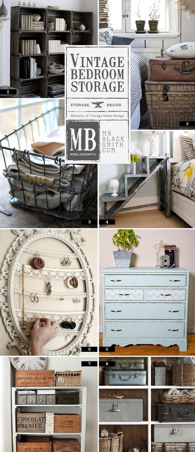 A Quick List of Vintage Bedroom Storage Ideas  Mr Blacksmith