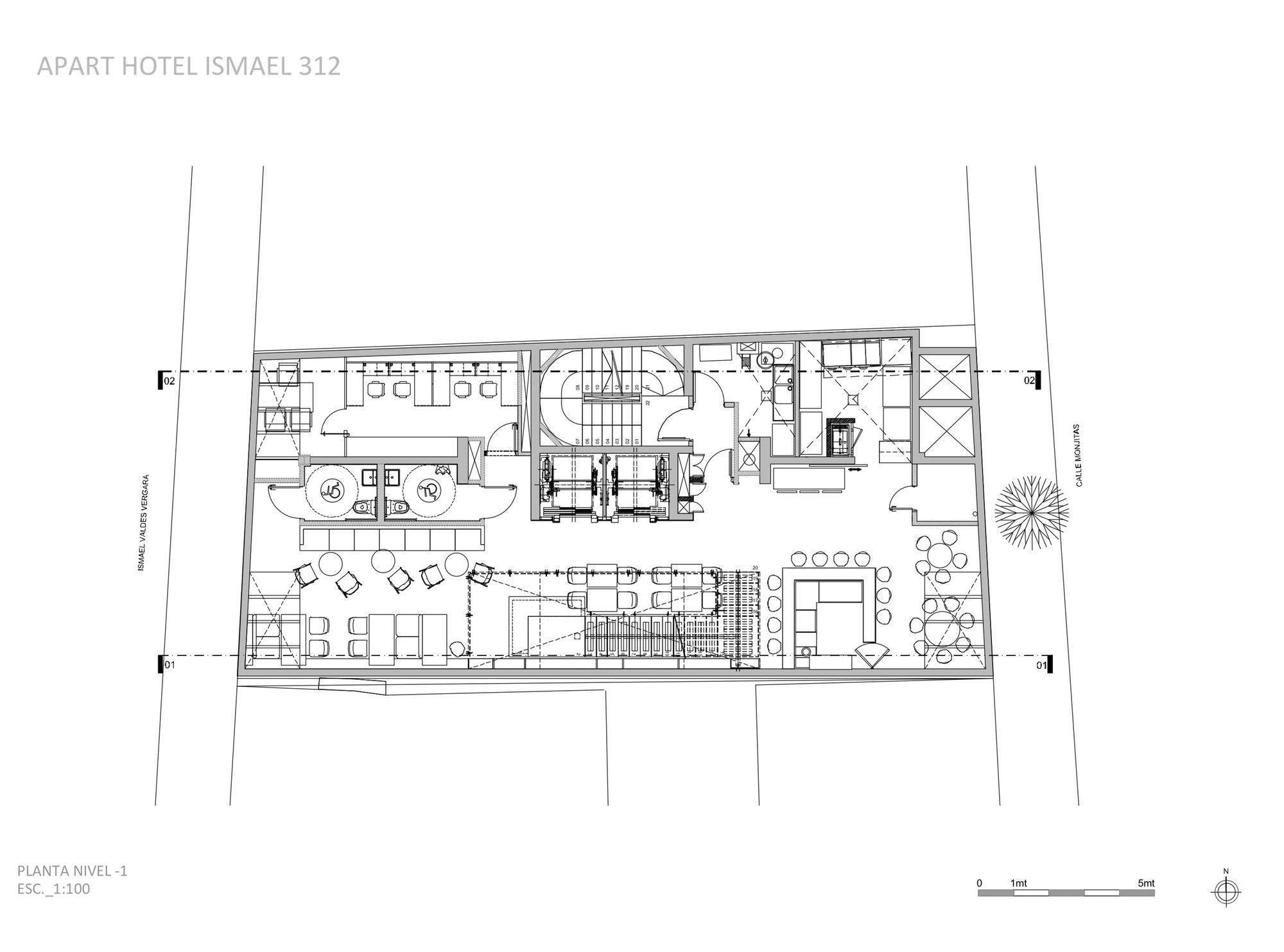 Gallery - Ismael 312 Apart Hotel / Estudio Larrain - 14