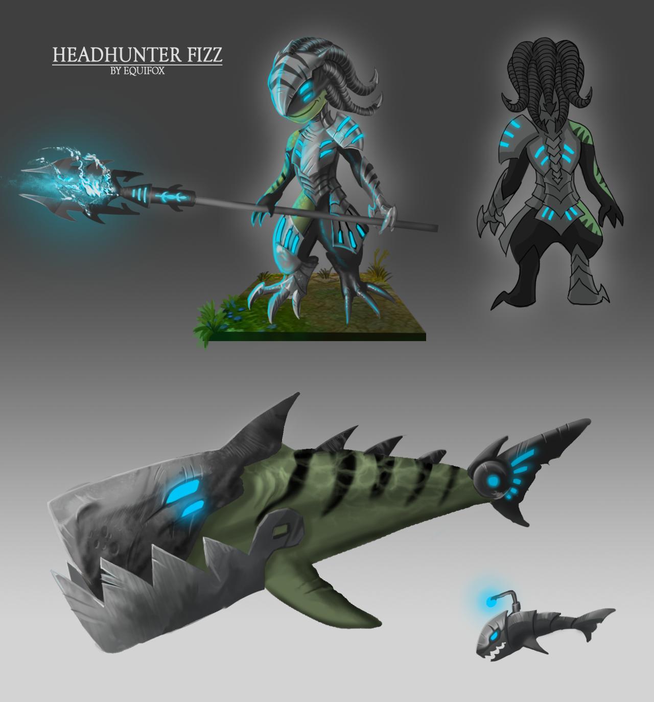 Skin concept - Void Fizz! - League of Legends Community