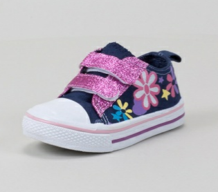 Flower Print Sneakers only $7.50 + FREE Shipping