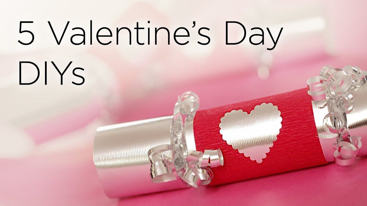 5 Cute DIY Valentines Day Gifts & Treats Valentines diy