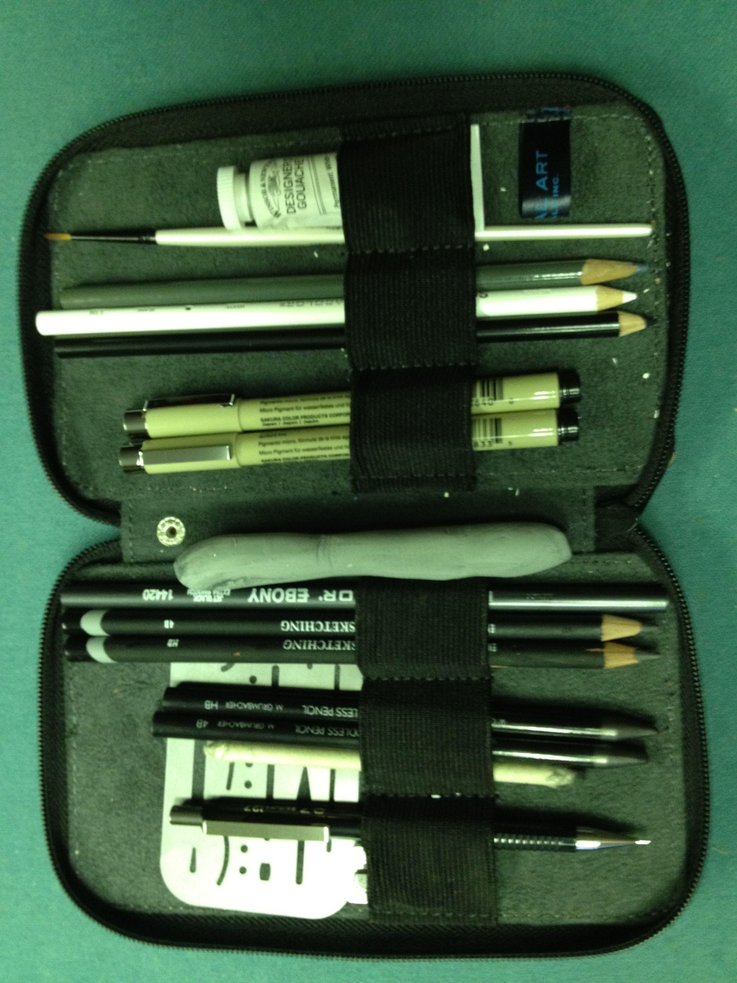 Pencil/pen case Sharpener, wood/less hb/4b, mech hb, sharpener, tech ...
