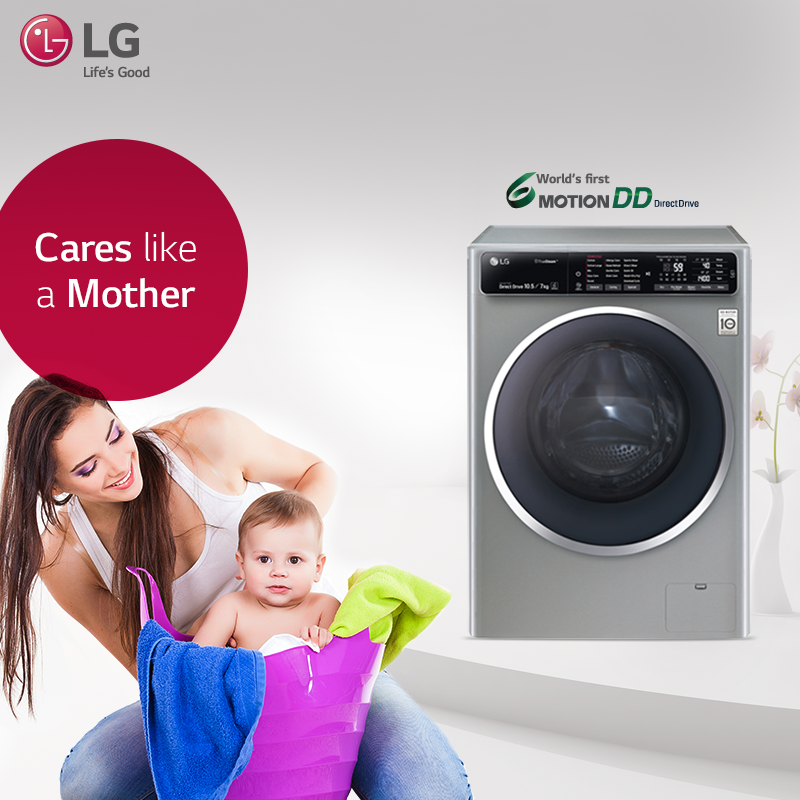 8 0 Kg Washing Machine With Steam Technology Front Loading