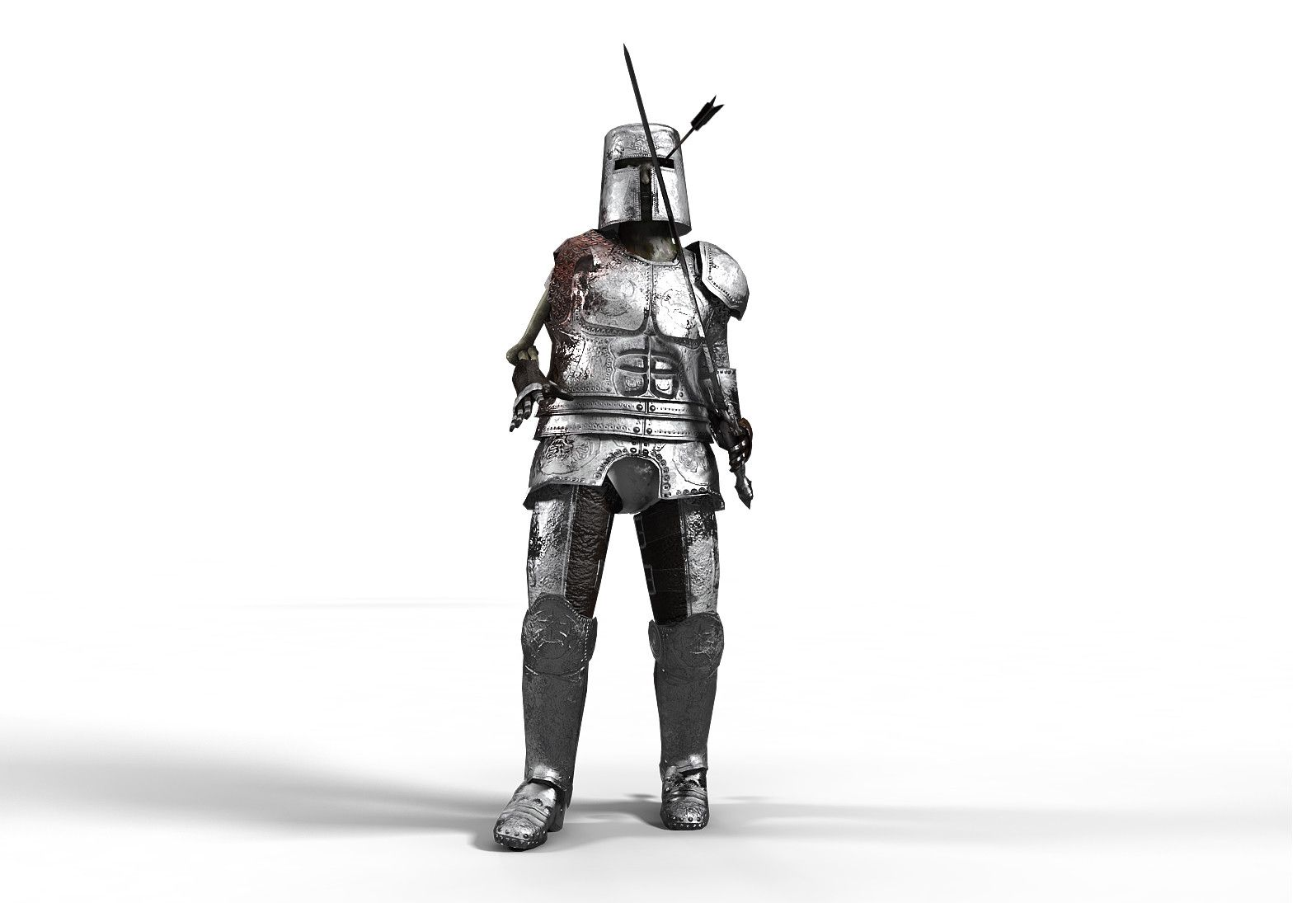 armor asset battle character dead detailed fantasy free game