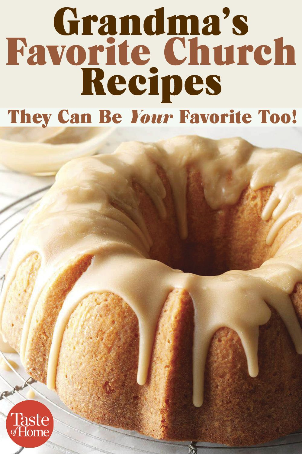 40 Recipes Grandma Stole from Her Church Friends #favourites