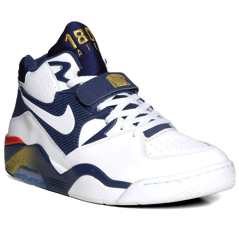 New images of the upcoming Nike Air Force 180 USAB, the sneaker made famous  by Sir Charles Barkley at the 1992 Barcelona Summer Olympics.