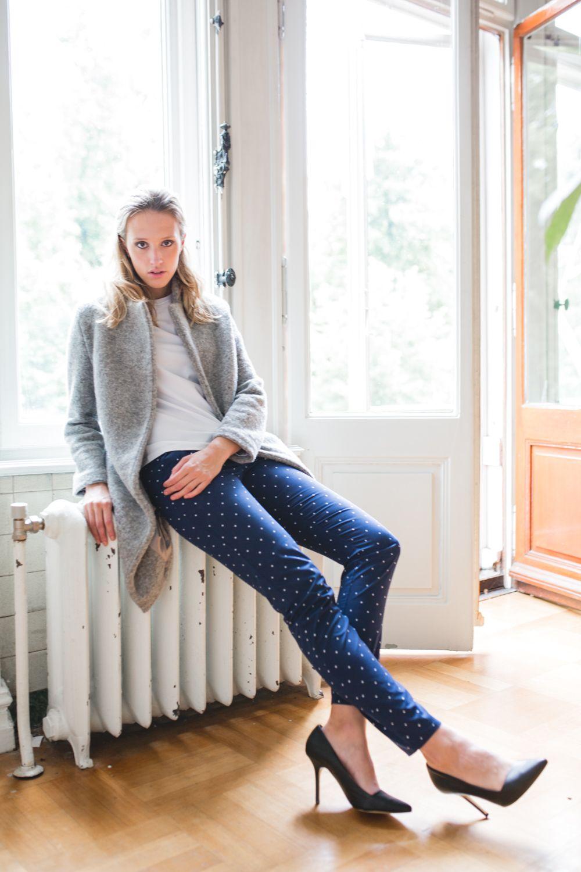 Atelier Anita de Groot Collection AW/16, Pants star print