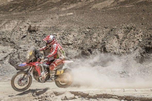 Paulo Gonçalves race action shot