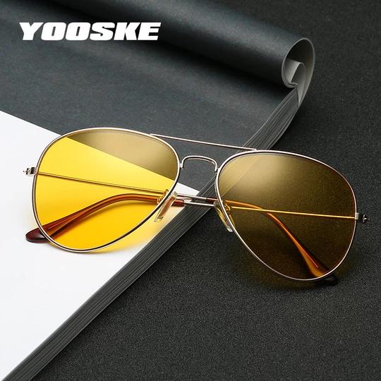 YOOSKE Classic Night Vision Goggles Glasses Women Men