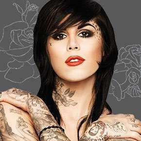 Face Piece Kat Von D Tattoos Kat Von D Tattoos Kat Von D