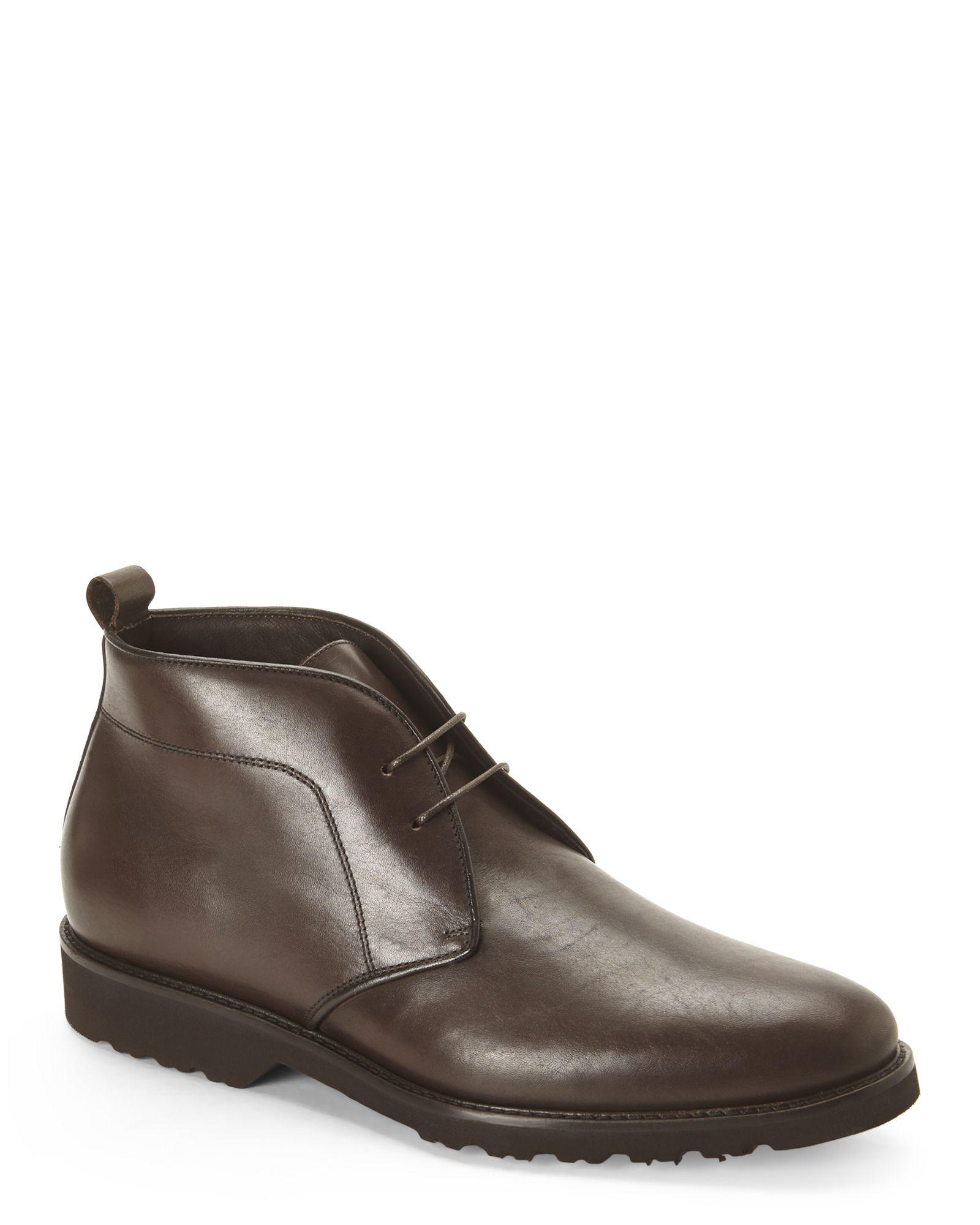 e8102b14386f Bruno Magli Dark Brown Wender Chukka Boots