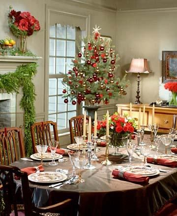 Easy To Make Christmas Centerpieces Source Table Decoration Idea Silver Setting Tablescape Perfect