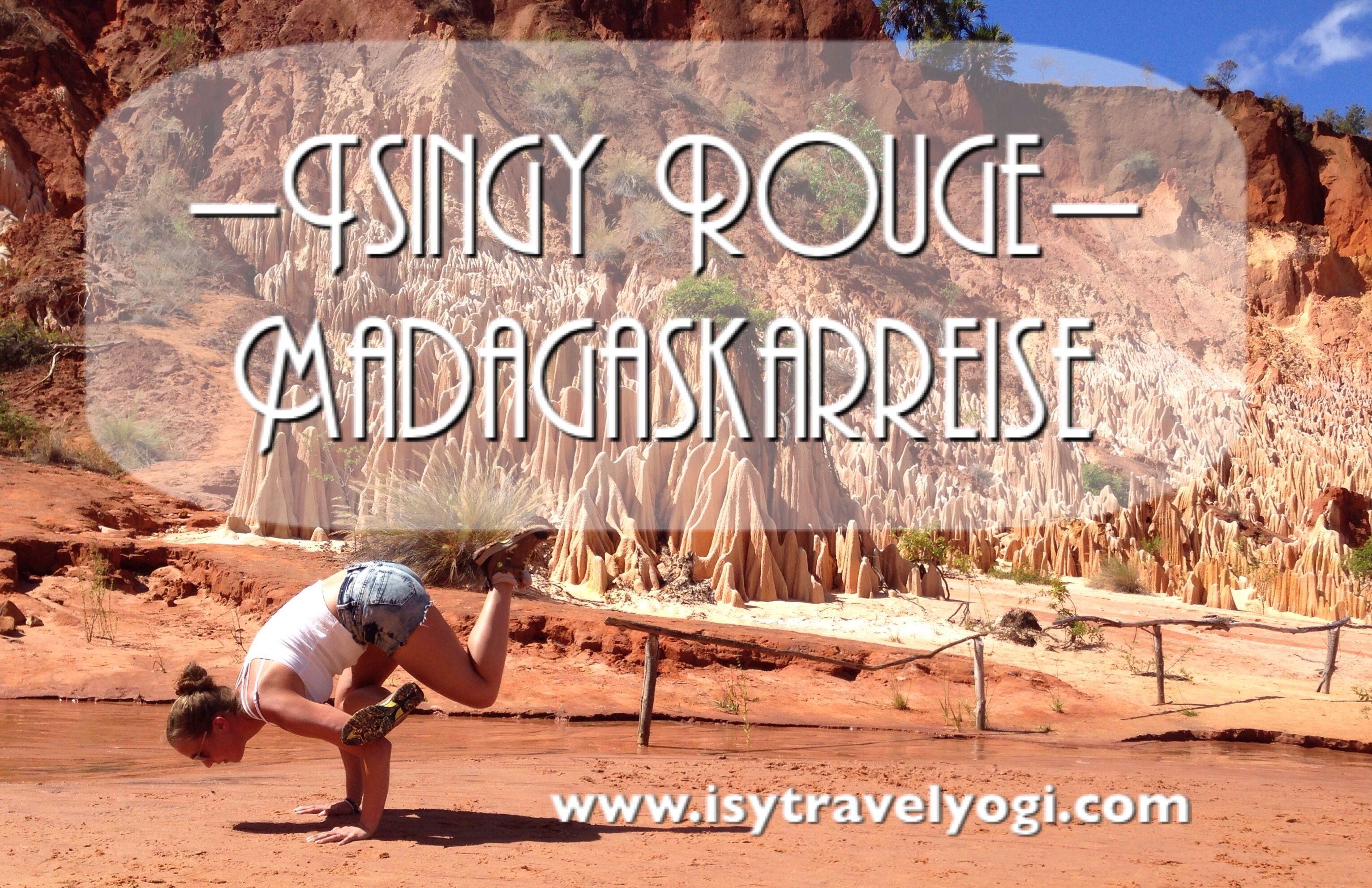 Tsingy Rouge Madagaskar Rundreise als Yogi #acroyoga #yoga #tsingy #madagascar #reiseblog