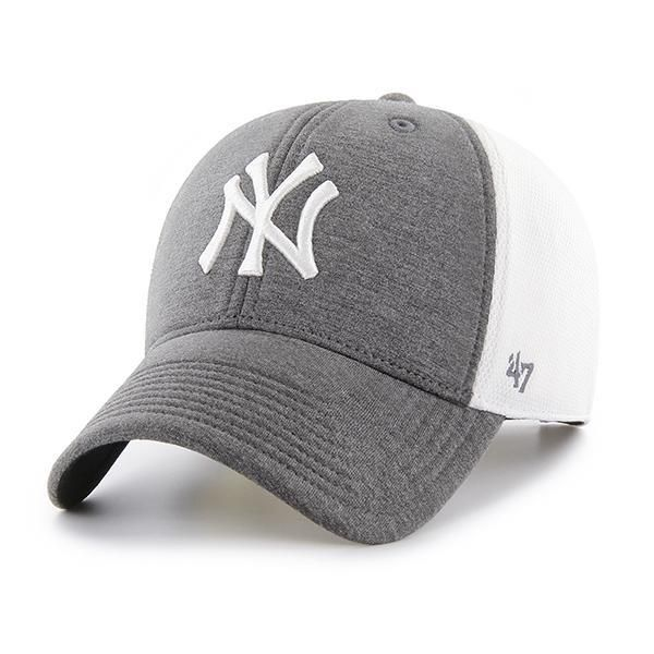 8545b235680 New York Yankees Haskell MVP 47 Brand Charcoal Adjustable Hat in ...