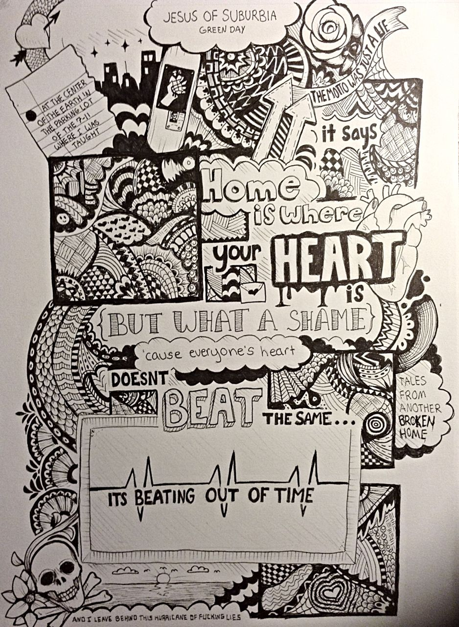 jesus of suburbia wish i could draw music pinterest