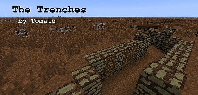 The Trenches: a World War 1 Map Minecraft Project (mapa) | Guerra ...
