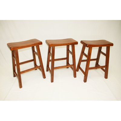 Andover Mills Benno 24 Counter Stool Saddle Seat Bar Stool Bar Stools Industrial Bar Stools