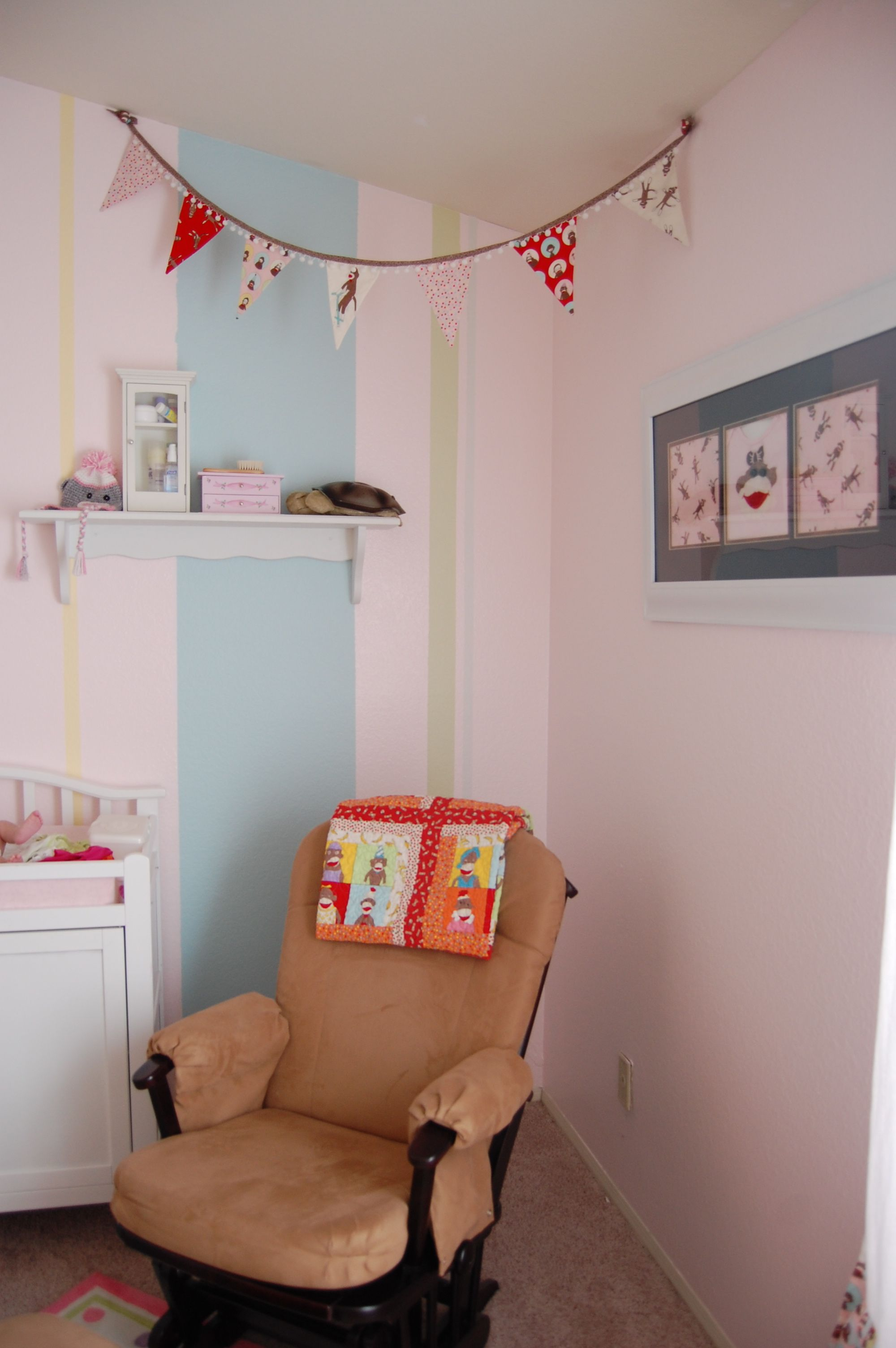 Our Sock Monkey Nursery | Monkey nursery, Baby sleep, Sock ...