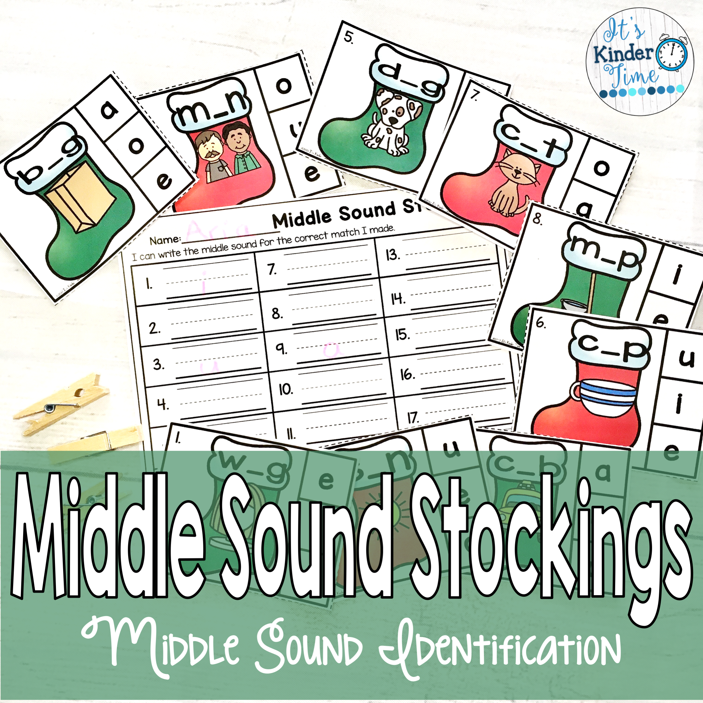 Middle Sound Stockings